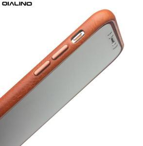 Image 3 - QIALINO אמיתי עור טלפון מקרה עבור אפל עבור iPhone X יוקרה עסקי סגנון Ultra דק חזרה כיסוי עבור iPhone XS עבור 5.8 אינץ
