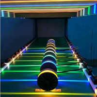 360 schmalen Strahl outdoor Wand Effekt Licht, LED Architektur Fassade LED Wand Leuchte wasserdicht IP65 Downlight ZBD0002