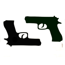 Personality pistol temporary body arts flash tattoo waterproof temporary tattoos gun henna tattoo Taty tatoo fake tatoos