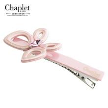 Chaplet 2016 Fashion Hair Accessories Women Rhinestone Butterfly Hair Clips for Girls Hair Barrette Alligator Clip Free Shipping