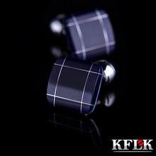 Kflk ювелирные изделия Модная рубашка запонки для мужской подарок