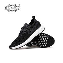 New exhibition casual shoes Fashion brand Men Sneakers Mesh Spring Lace up tenis hombre trainers Lightweight breathable sepatu F
