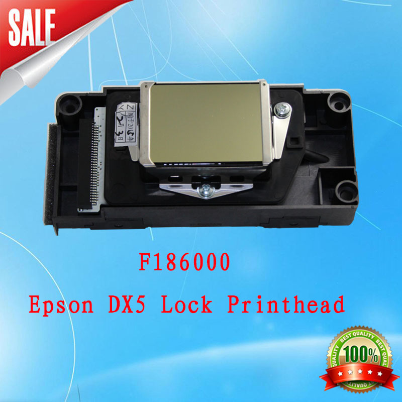 free shipping! F186000 Eco-solvent Dx5 Printhead Original Ep DX5 eco solvent first locked new version encryption printer head