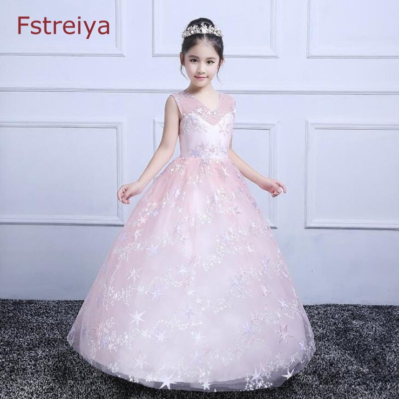 Baby girls elsa dress summer Sleeveless girls sequins party princess dress little girl clothes princess dresses kids clothing