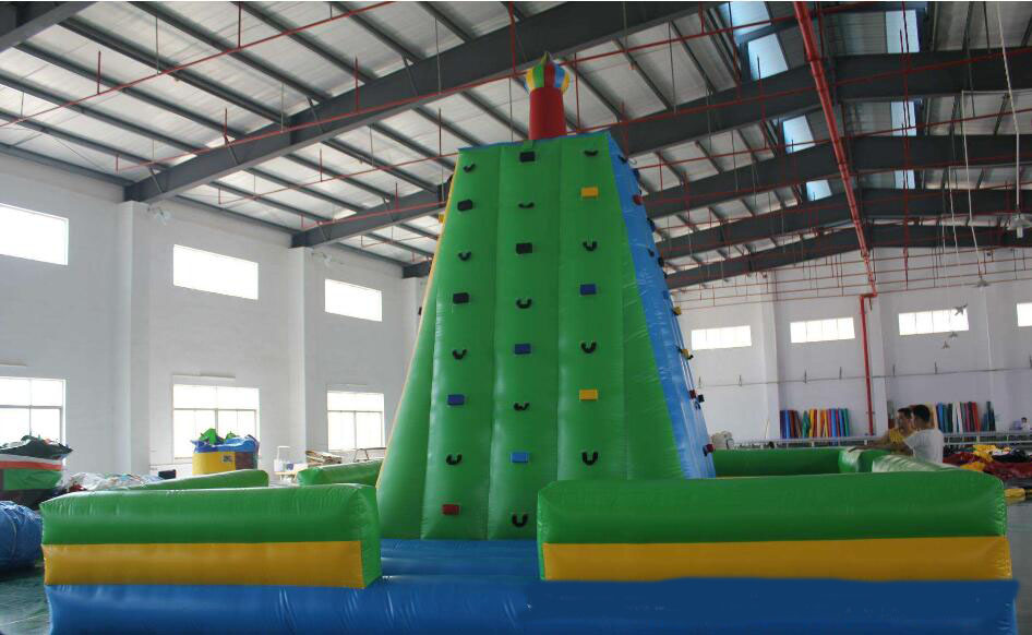 Giant outdoor sport game Inflatable Rock Climbing Wall With factory priceGiant outdoor sport game Inflatable Rock Climbing Wall With factory price