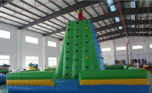 Giant Inflatable Rock Climbing Wall With factory price