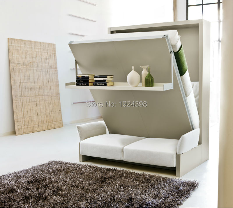 High quality folding bed murphy bed for transformable space saving