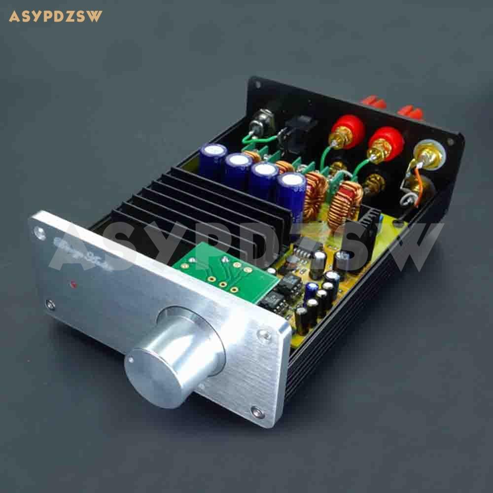 Finished SA1 TAS5630 Class D digital power amplifier With AD827 preamp 300W+300WFinished SA1 TAS5630 Class D digital power amplifier With AD827 preamp 300W+300W