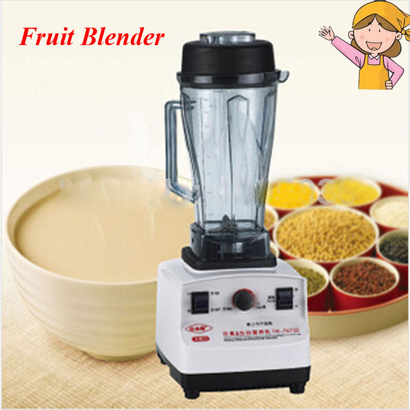 Commercial Fruit Juice Grinder Ice Crusher Food /Fruit Mixer /Blenders Multifuntional blending machine 1200W 220V 767L цена