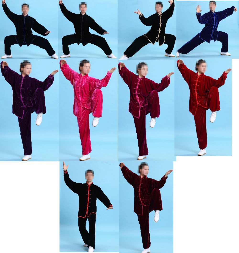 top quality unisex tai chi suits Martial arts clothing sets kung fu uniforms Sports clothes exercises