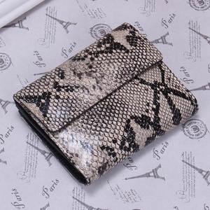 FOJIURETY Women Genuine Leather Clutch Purse Short Wallets 7d01746888