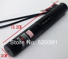 2017 The latest Military 532nm green laser pointer 500000mw 500w high power focusable burning match,burn cigarettes SD Laser303