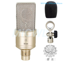 лучшая цена Large Diaphragm Cardioid Condenser Microphone for Network PC Stage Sing Record Microphone One-year Quality Guarantee MiCWL C01U