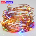 Outdoor Indoor LED String 10M Leds USB Christmas light LED Copper Wire String Fairy Lights for Holiday Wedding Decoration