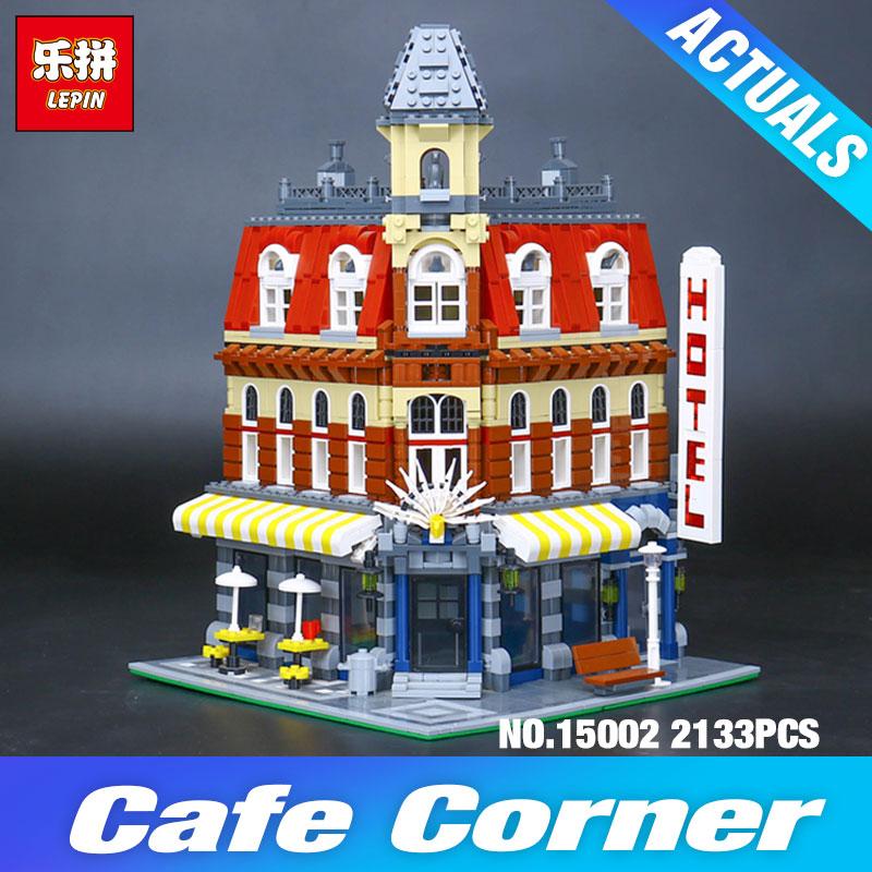 Lepin 15002 Cafe Corner Model Building Set Blocks Bricks Kits
