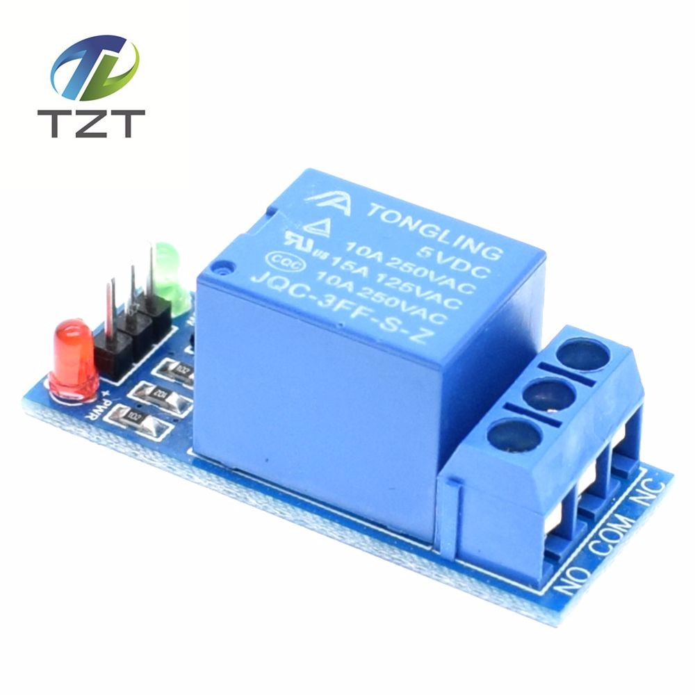 50pcs 5v Low Level Trigger One 1 Channel Relay Module Interface Board  Shield For Pic Avr Dsp Arm Mcu Arduino