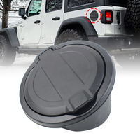 Tank covers Fuel Cover Car Gas Oil Cap Exterior Parts Auto Replacement Parts Steel ABS Plastic For Jeep Wrangler JL 2018 2019 Up