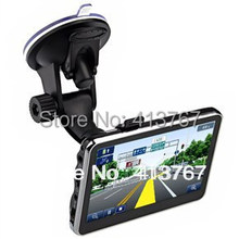 """4.3"""" inch TFT-LCD Touch Screen  4GB Car GPS Navigation Navigator with Multimedia Player /FM Radio /TF Slot"""