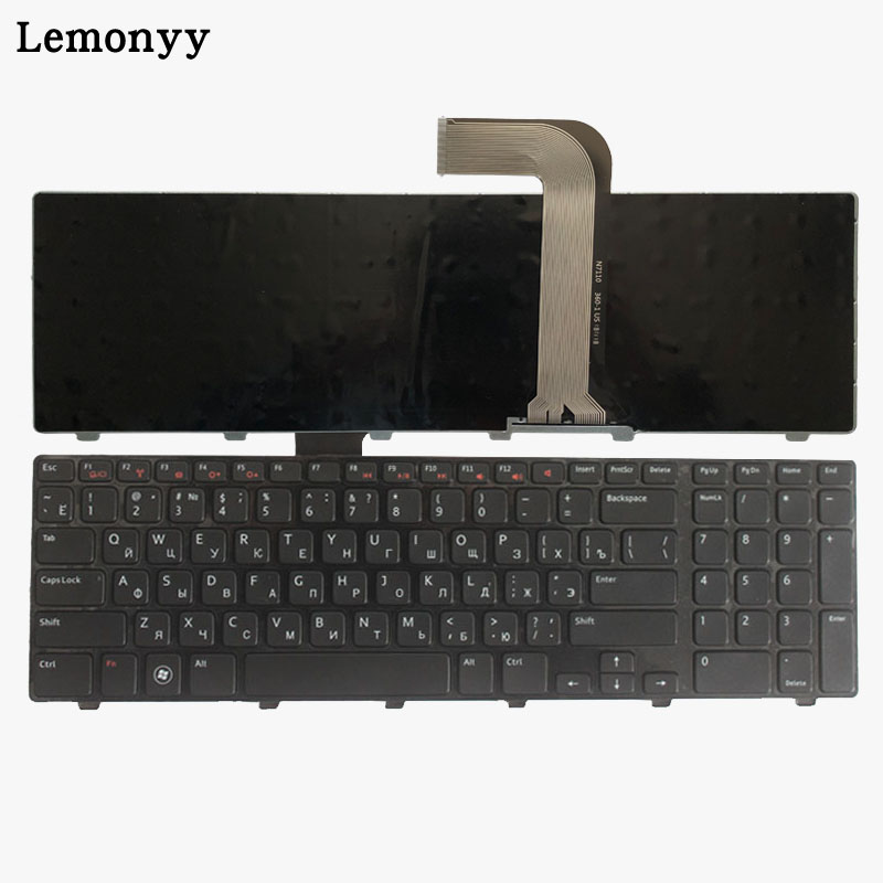 Russian Black New Laptop Keyboard For DELL 17R N7110 XPS 17 L701X L702X 5720 7720 Vostro 3750 V3750 RU Keyboard Witn Frame