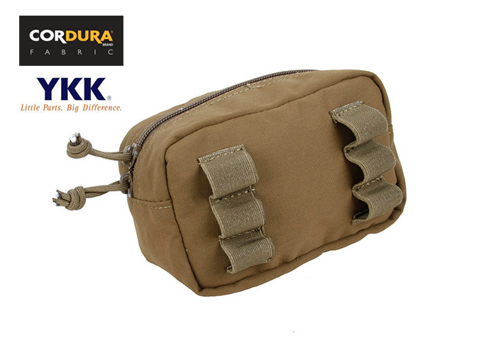 Tactical MOLLE/Belt 6ID GP General Purpose Utility Pouch Coyote Brown CB+Free shipping(XTC050987)
