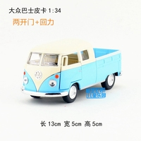 Brand New KT 1 34 Scale Car Toys Germany 1963 Volkswagen Pick Up Bus Diecast Metal