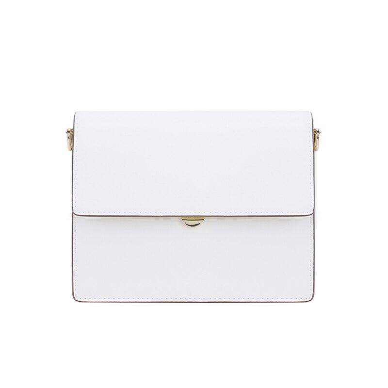 Paquet nouveau modèle en cuir véritable unique épaule Messenger Mini-petit carré designer sacs à main fourre-tout vintage Style coréen chaud
