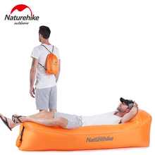 Naturehike Portable Inflatable Air Sofa Lazy Bag Outdoor Camping Beach Mat Lounger Airsofa Foldable Air Bed NH18S030- цена 2017