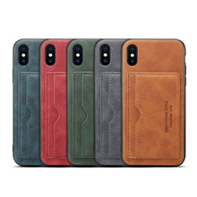 Newisdom Wallet Cases for iPhone x case Leather Holder iPhone Xs max Leather Card Case 7 stents iPhonex cover8 plus back  xr