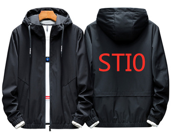 STI0 2019 للرجال حجم كبير هوديس مقنعين رياضية الربيع الحبل إلكتروني مقنعين البلوز طويلة الأكمام البريدي ضئيلة معطف سترة الذكور