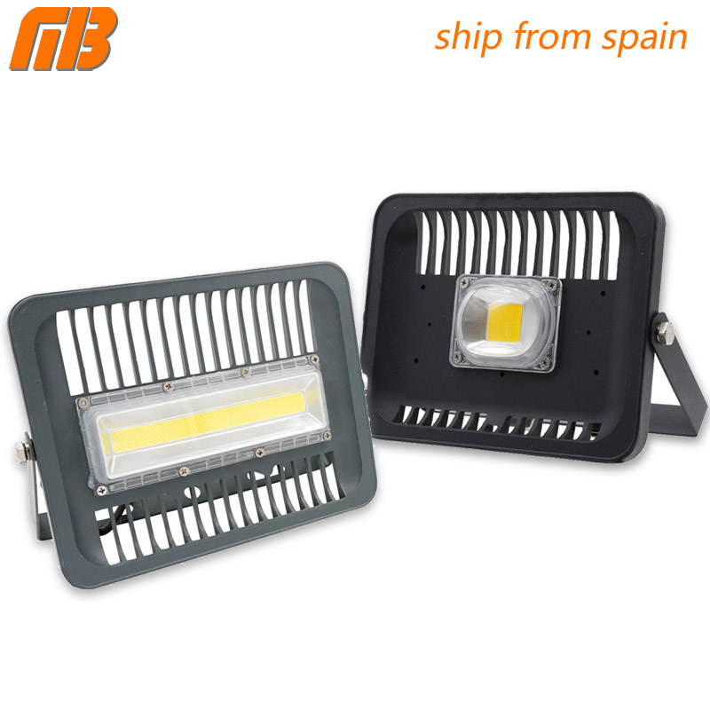 [MingBen] LED Floodlight 30W 50W 100W Outdoor Lighting AC 230V High Brightness IP65 Waterproof CE For Square Garden Garage