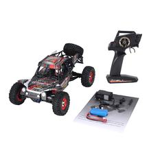 Wltoys 12428-C 1/12 Scale 4WD 2.4Ghz 50km/h High Speed RC Crawler Climbing Off-Road Rock Electric RC Remote Control Car RTR Kids(China)