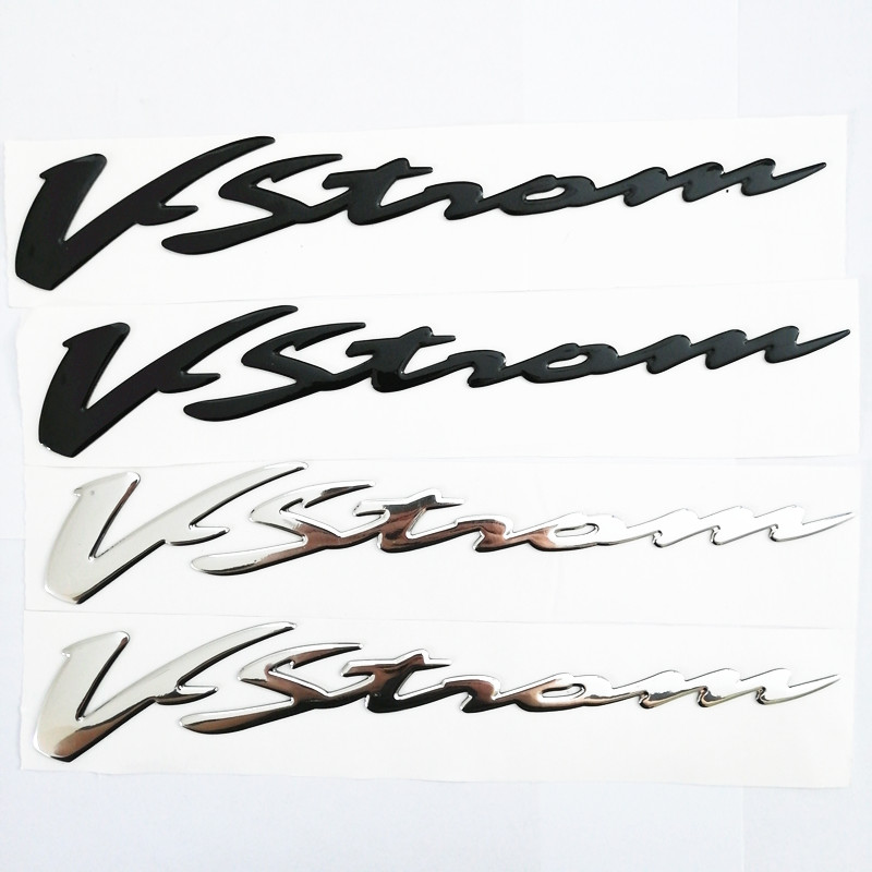 Motorcycle 3D Raise Stickers Decals Emblem For Suzuki  VSTROM 250 DL 650 1000