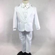 Boys 5 Pieces Formal Tuxedo Suit