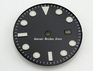 Image 3 - 28.5/31.5mm Black/Blue/Green/White Dial Sterile Fit Mingzhu 2813/3804 Movement Mens Watch Accessory