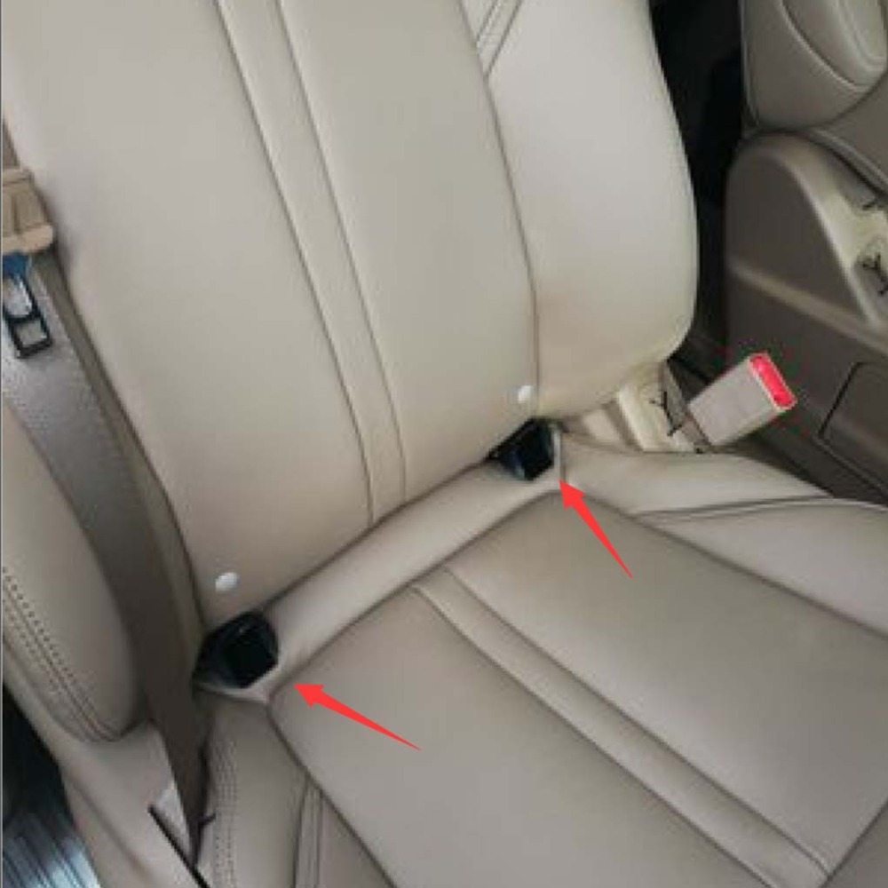New 2 x Thickening Belt Connector ISOFIX Latch Guide Slot For Baby Car Seat Safety Seats For Kids