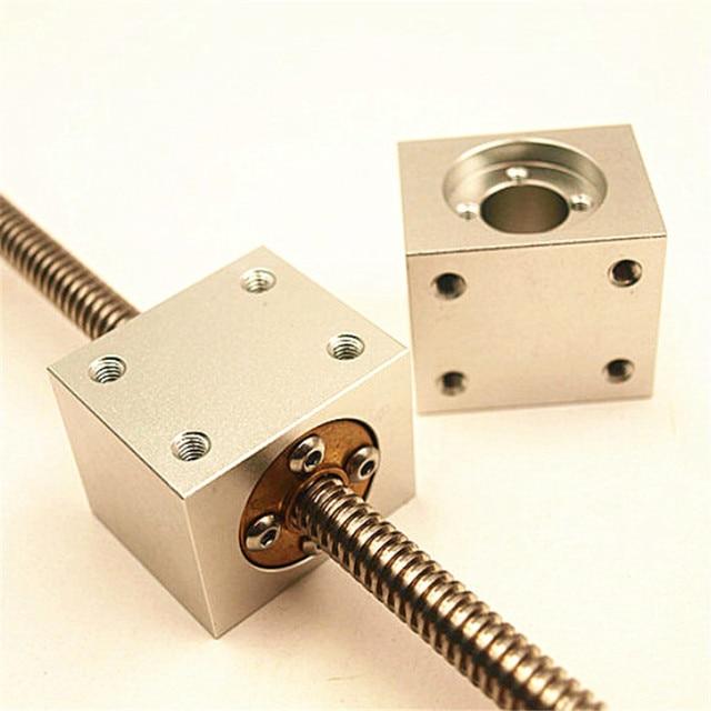 Funssor T8 Trapezoidal ตะกั่วสกรูสำหรับ 3D ชิ้นส่วนเครื่องพิมพ์ Reprap CNC