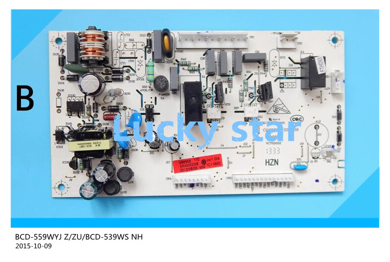 95% new for refrigerator computer board circuit board BCD-559WYJ Z/ZU/BCD-539WS NH driver board good working 95% new used for refrigerator computer board h001cu002
