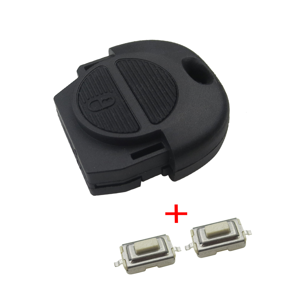Good quality Remote Fob Key Shell for Nissan Micra Almera Primera X-Trail 2 Buttons Car Key Case Cover No Blade 50ml nickel crucible no cover good quality
