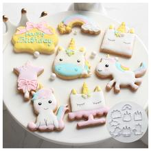 8 / 6pcs Innovative Croissant Biscuit DIY Fondant Chocolate Cake Embossing Mold Decoration Baking Tool