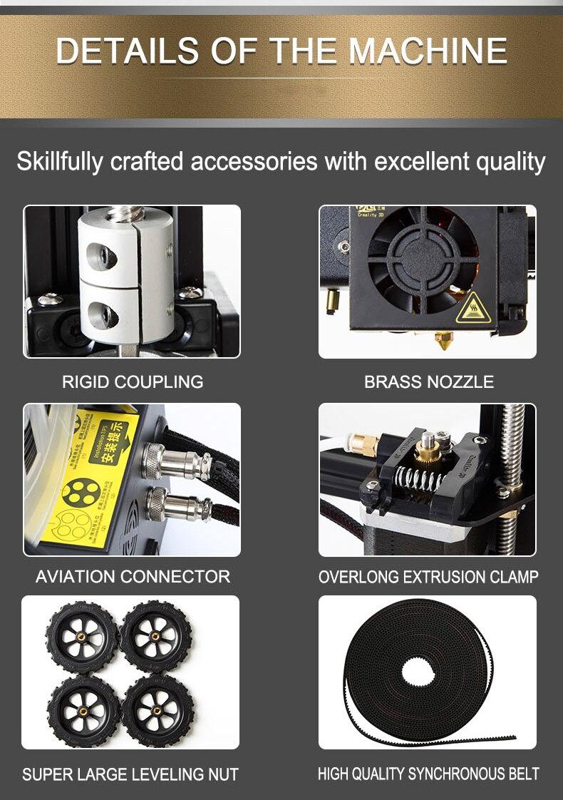 3-d-drucker Anycubic 3d Drucker Pulley Linear Plus Große 3d Druck Größe Halb Von Montiert Mit Auto Nivellierung Impressora 3d Diy Kit Kaufen Sie Immer Gut