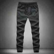 2016 men's Korean version of casual pants beam foot tide boys feet loose harem pants plus size code M-5XL 3 color optional