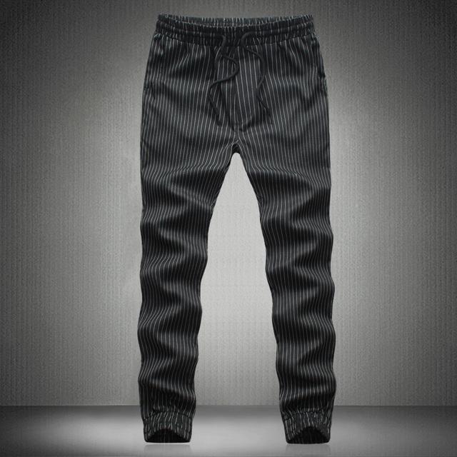 2016 versão Coreana dos homens de calças boca pé maré meninos casuais código pés harem pants soltas plus size M-5XL 3 cores opcionais