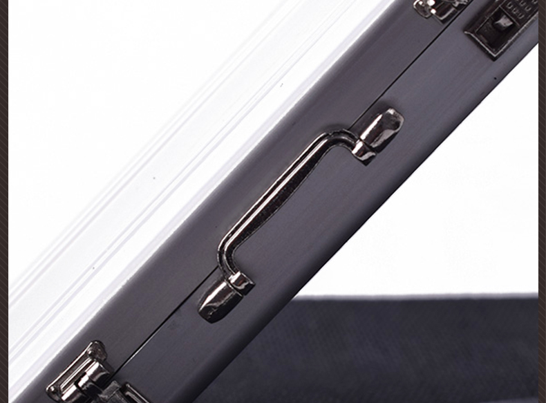 1//6 scale Silver Metal Portable suitcase can be opened for 12/'/' Figure Doll