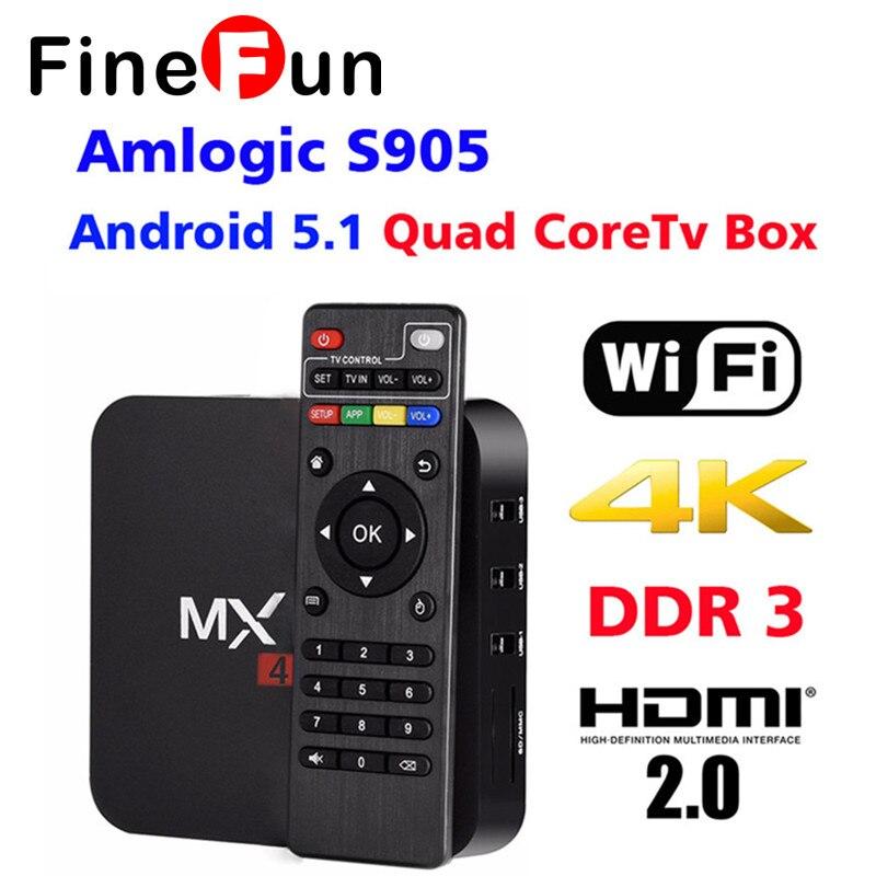 F New MXQPro Smart Android TV Box Amlogic S905 Quad Core Android5.1 DDR3 1G HDMI 2.0 WIFI 4K 1080 Kodi HD Player #A1543 android tv box android 5 1 box mxqpro 4k amlogic s905 quad hdmi 2 0 kodi 16 0 loaded add ons wifi 4k 1080p wifi smart tv box
