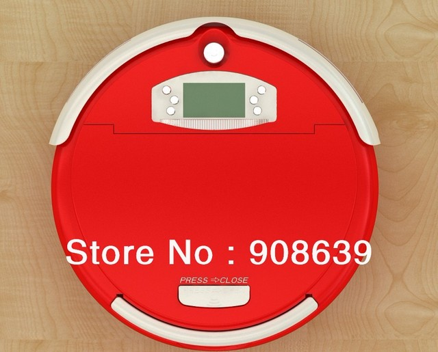 Free Shipping For Russian Buyer/ Smart Vacuum Cleaner Robot With Larger Dust Bin Box +China Original +UV lights +CE&ROHS