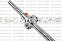 Zero Backlash Ball screws 1605 L1220mm + 1pcs SFU1605 single ballnut for CNC