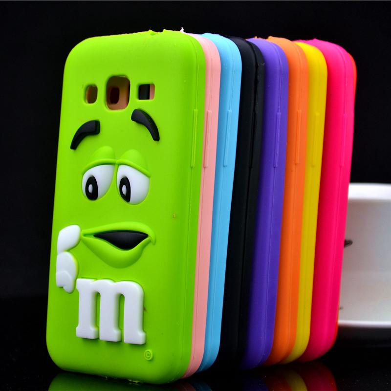 For Samsung Galaxy Core Prime G360 G3606 G3608 Case Chocolate Candy Silicone Rubber Cases Covers Phone Case