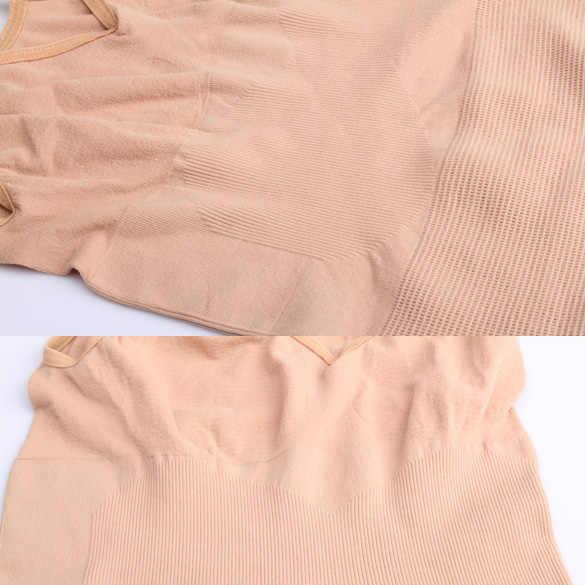 Горячая Женская Комфортная эластичная Облегающая рубашка для похудения с эластичным топом, утягивающий жилет на талии 19ING