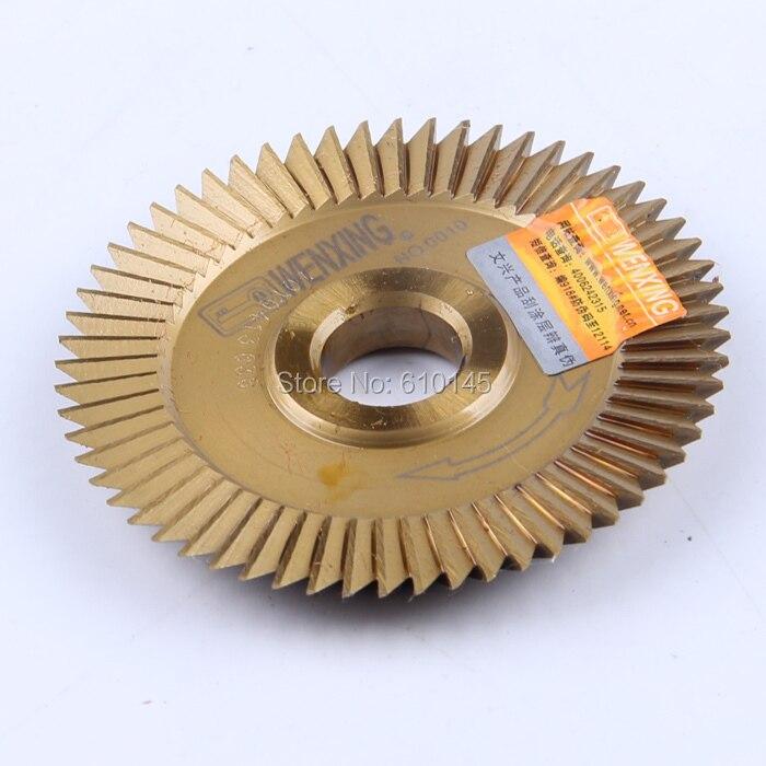 NO:0010 titanizing wenxing cutter blade 60*12.7*7.3mm saw blade цены