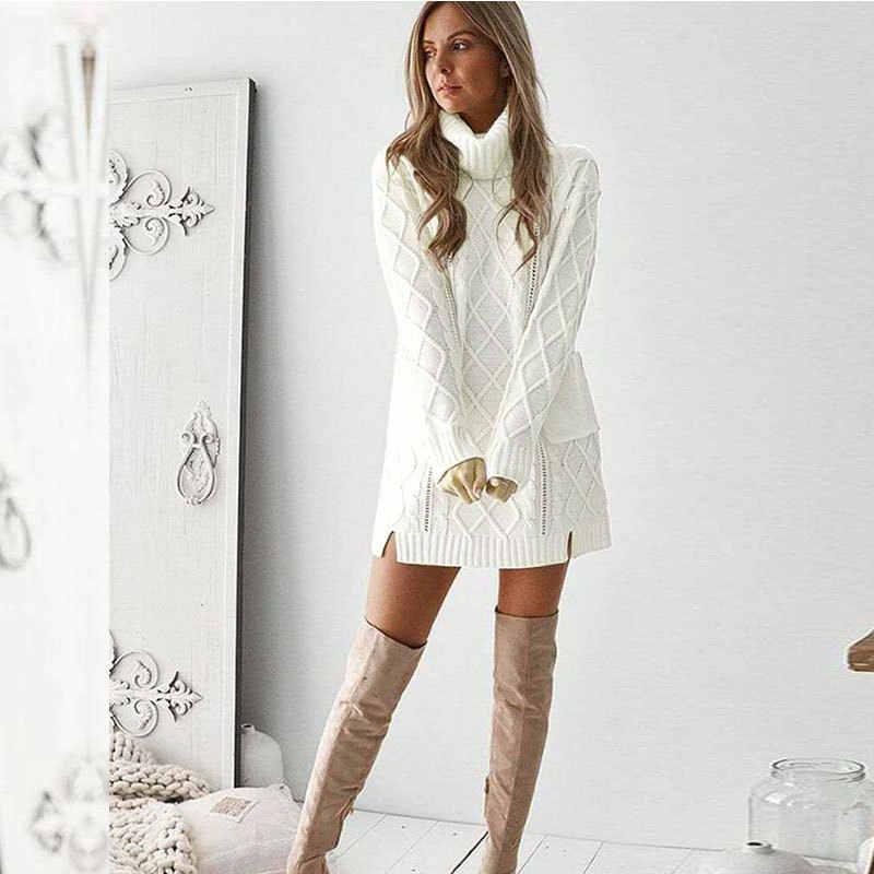 Modis водолазка свитер женский джемпер корейский стиль пуловер pull зимняя одежда свитера платье женская уличная трикотажная верхняя одежда
